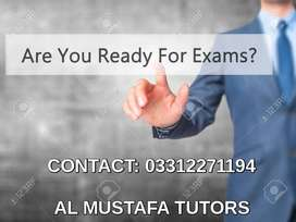 For O-Levels,A-Levels,I to XII,IELTS-Home/Online Tutors Available
