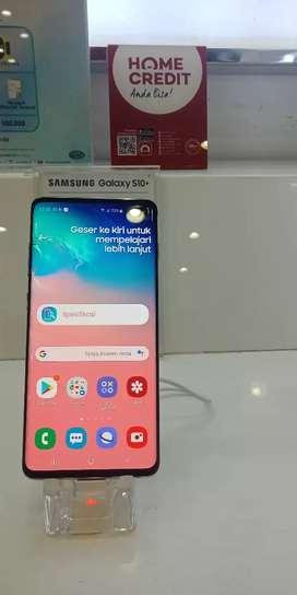 Samsung S10+ dapatkan free 1x angsuran kredit tanpa kartu
