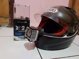 Helm KYT RC 7 + Action Cam