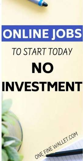 Without investment online job