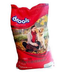 Dog food sale.