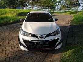 Toyota All New Yaris TRD S 1.5 Matic 2018 km 19 ribu Istimewa