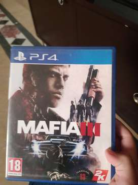 Mafia 3 PS4 cd