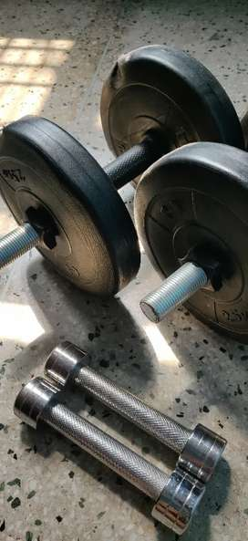 Dumbbells in new condition