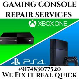 All gaming consoles service available