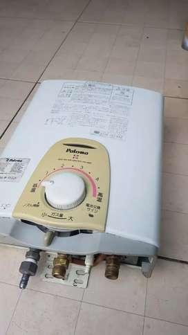 Paloma water heater gas gratis pasang