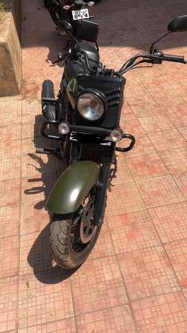 Military Bike - Commando Olive Green