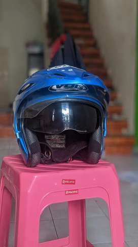 Helm VOG ORI double visor murah