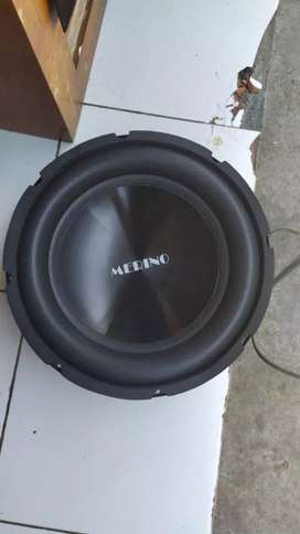 Subwoofer 1200w double coil Merino