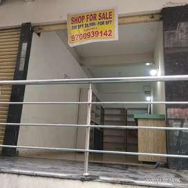 Shop for sale in Abhinandan tower putli bowli x road
