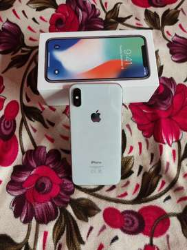 Iphone X (SILVER COLOUR) 64GB