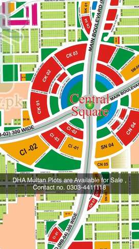 DHA Multan 1 Kanal reasonable price Plots