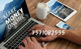 Part time/full time jobs in India home based data entry work