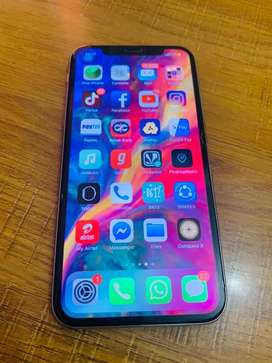 Iphone X Silver 64gb good condition