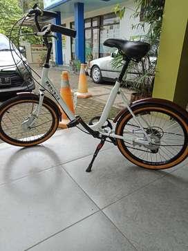 Sepedah Minion Klasik Modif