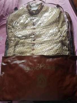 Manyavar New sherwani with paijama and dupatta  size-XXL