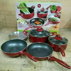 Panci Teflon Supra Rosemary Set 7 Pieces