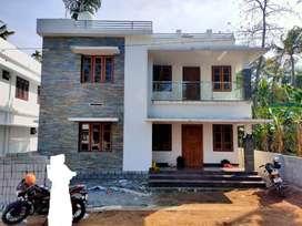Cheroor , 1600SqFt ,4cent,3bhk Villa -Thrissur
