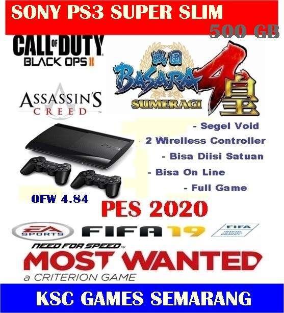 "Seller Promotion ""Ps3 Super Slim 500 GB ~ Segel Void ~ Siap Main"""