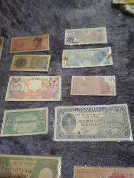Uang kuno di jual koleksi uang jadul