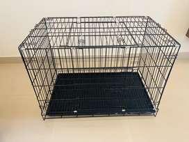 Pet cage, Litter tray, feeding bowl