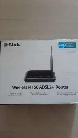 D-Link DSL-2730U Landline Router