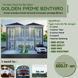 Golden Prime Bintaro, Hunian baru termurah di kawasan strategis