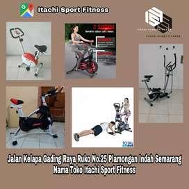 Jual Alat Fitness Sepeda Statis Treadmill Home Gym ( Konan Sport )