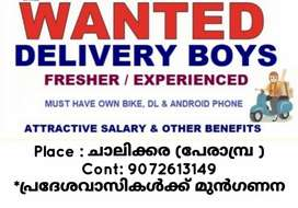 URGENTLY NEED DELIVERY STAFF