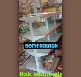 Rak gondola supermarket 100 % Baja