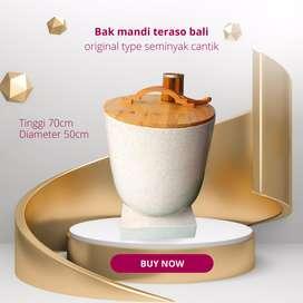 Bak mandi teraso bali original type seminyak handmade