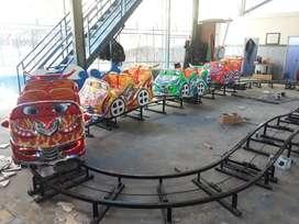 odong odong mini coaster naik turun LR  fiber plat kereta panggung