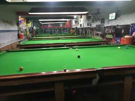 Snooker club with everything