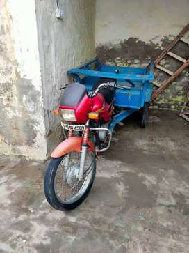 Modified bike rikshaw