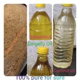 Sugarcane Sugar  & Oils