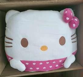 Bantal hello kitty boneka hello kitty