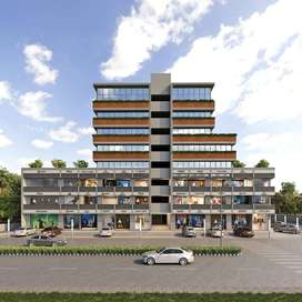 500 sq ft just 2100000  nr sg highway