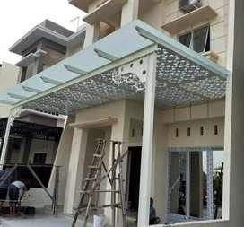 Canopy kaca kuat dan rapih #4787