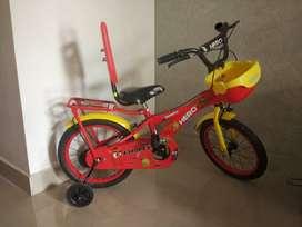 Hero Brat Single Speed Kids (3-6Yrs) Bicycle - Rarely used