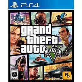 GTA5 PS4 game