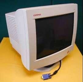Compaq 17-In Flat CRT Monitor
