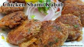 Chicken shaami kabab 120 piece in Rs.160