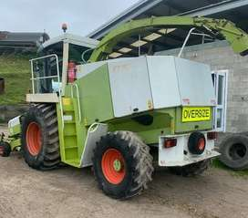 CLAAS JAGUAR 840 1997 4WD SILAGE HARVESTER MACHINE
