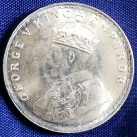 One rupees british coin 1920