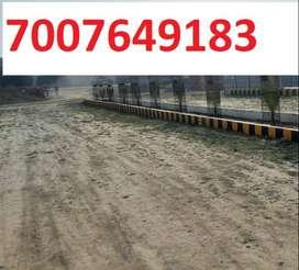 Sultanpur road se lage dakhil kharij plot le turant registry aur kabja