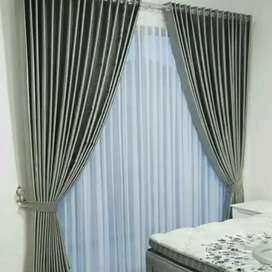 Vitrase Gordeng Hordeng Gorden Curtain Minimalis Gordyn Korden 583