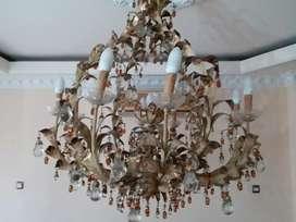 Lampu kristal antik jarang ada,model klasik