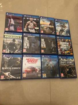 Ps4 cds only  1000 rs