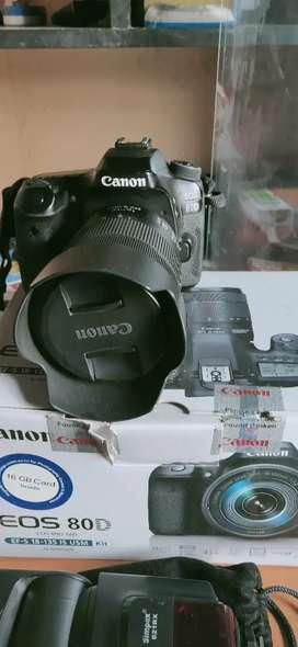 Canon 80d 18-135