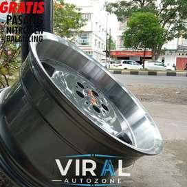Velg Mobil Ring 18 Rostock HSR Lebar 8/9 Bisa Kredit Civic Camry Acord